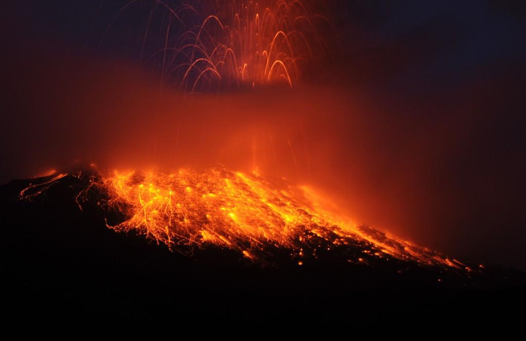 CORRECTION Ecuador Volcano