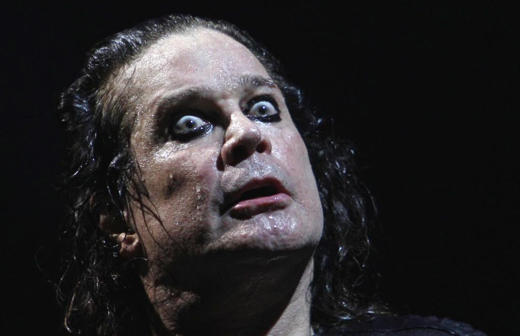 APTOPIX Argentina Ozzy Osbourne